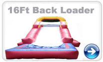 16Ft Backloader waterslide Rental
